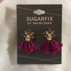 NWT 🎀 Sugarfix by Baublebar fringe earrings 🎀